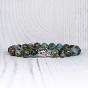African Turquoise Turtle Transcendence Bracelet